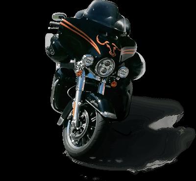 Harley-Davidson Fahrschulmotorrad von Sepp