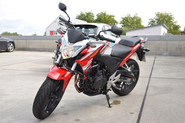 Honda CB 500 (Führerscheinklasse A2) - Sepp's Fahrschule