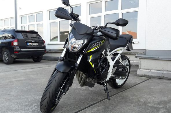 Honda 650- Sepp's Fahrschule