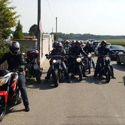 Bikergruppe